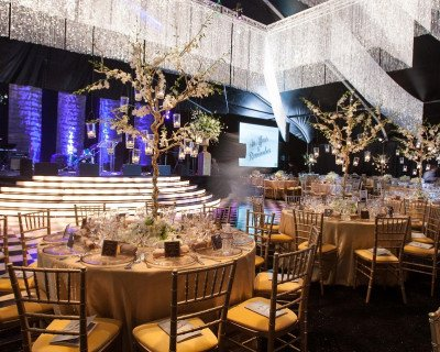 elegant indoor formal event