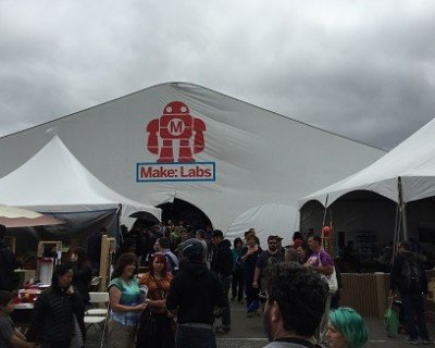 maker fair outdoor tent