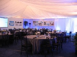 Elegant Meeting in a Tent_1
