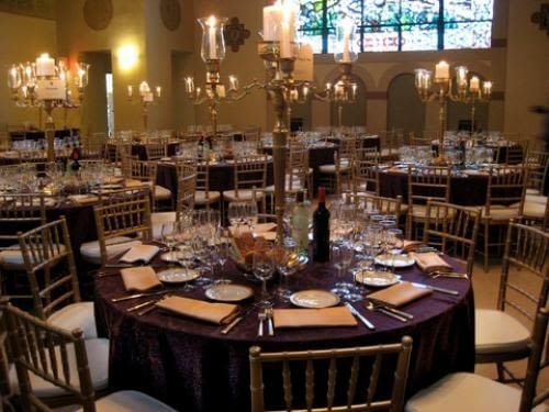 The 1 party rentals company in the bay area stuart has it all purple and gold wedding reception junglespirit Images