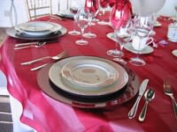 Red, Pink, White, & Black Table Settings for Valentine's Day_6