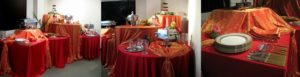 Stunning Red and Orange Buffet_1_2_3