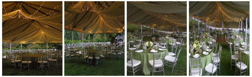 Twinkle Light-Filled Wedding Tent_3_4_5_6