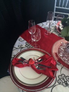 Valentine's Day Event Rentals There's Always Time for Chocolate and Flowers_2