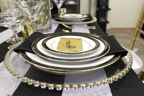 bay area china place settings rentals